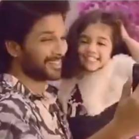 Allu Arjun,Arha,South,Butta Bomma