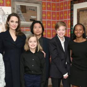 angelina jolie,Maddox Jolie-Pitt,Hollywood,The One and Only Ivan