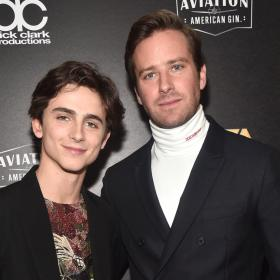 Armie Hammer,Timothee Chalamet,Hollywood,Call me by your Name
