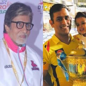 News,Amitabh Bachchan,MS Dhoni,Anushka Sharma Virat Kohli daughter