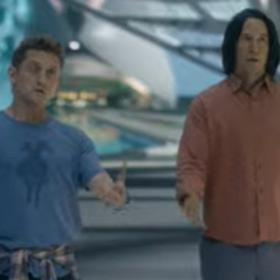 keanu reeves,Hollywood,Bill & Ted Face the Music Trailer,Alex Winter
