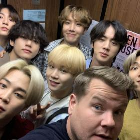 James Corden,The Late Late Show With James Corden,BTS,Hollywood