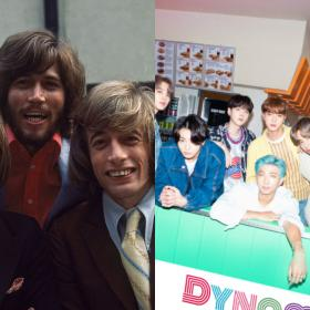 BTS,Hollywood,Dynamite,Bee Gees