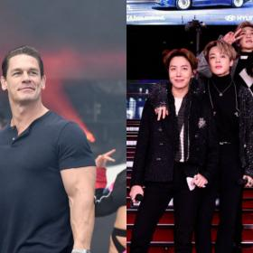 John Cena,BTS,Hollywood,Map of the Soul ON:E