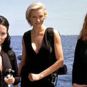 Drew Barrymore,Cameron Diaz,Hollywood,charlie's angels,lucy liu