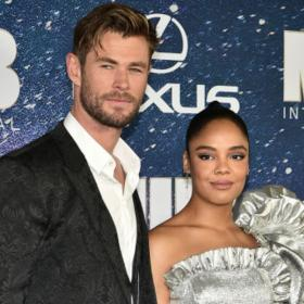 Chris Evans,Chris Hemsworth,Tessa Thompson,Avengers Endgame,Hollywood