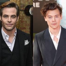 Harry Styles,Chris Pine,Hollywood,Don't Worry Darling