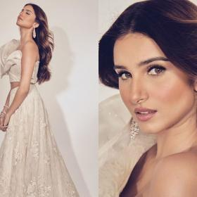 Celebrity Style,Wedding Season,Tara Sutaria,desi look