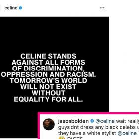 Celebrity Style,Céline,diet prada,black lives matter