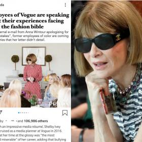 Celebrity Style,vogue,anna wintour,black lives matter
