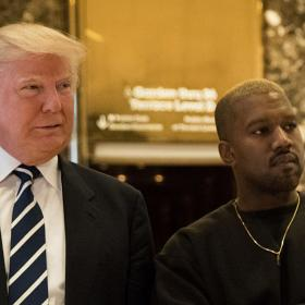 kanye west,donald trump,Hollywood,COVID 19