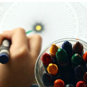 People,parenting,children learning,drawing for kids