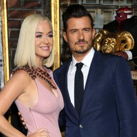 Katy Perry,smile,Orlando Bloom,Hollywood