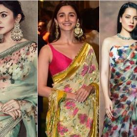 anushka sharma,saree,Faceoffs,Fashion Faceoff