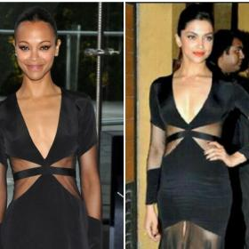 deepika padukone,Faceoffs,Fashion Faceoff,zoe saldana