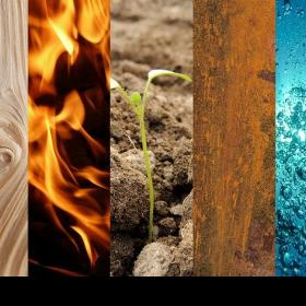 People,Earth,natural elements,five natural elements