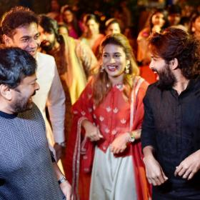 Chiranjeevi,Allu Arjun,South