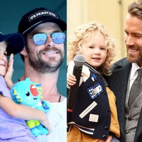 Ryan Reynolds,Chris Hemsworth,Hollywood,Hollywood celebs