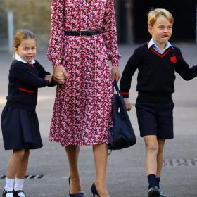 Prince George,Princess Charlotte,Kate Middleton and Prince William,Hollywood
