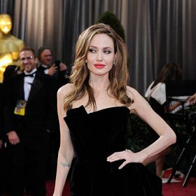 Celebrity Style,Angelina Jolie,angelina jolie birthday,angelina jolie thigh high slit dress