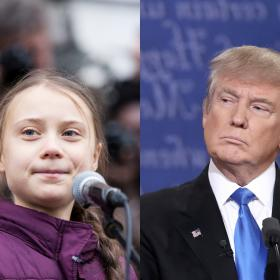 donald trump,Hollywood,Greta Thunberg,Anderson Cooper
