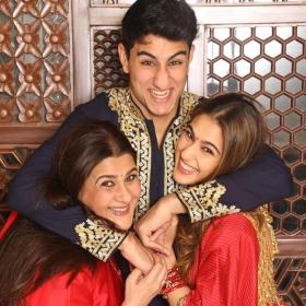 News,amrita singh,Sara Ali Khan,Ibrahim Ali Khan,Happy New Year 2020