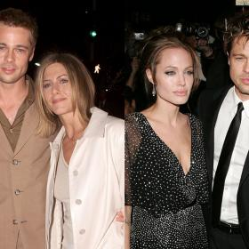 Celebrity Style,Angelina Jolie,Jennifer Aniston,brad pitt