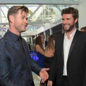 Chris Hemsworth,Liam Hemsworth,Hollywood