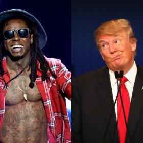 donald trump,Hollywood,Lil Wayne,US elections