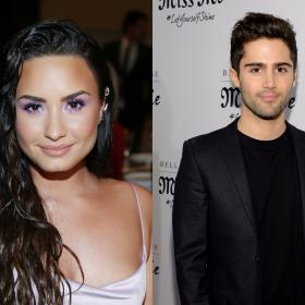 Hollywood,Max Ehrich and Demi Lovato