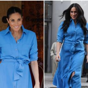 Celebrity Style,Meghan Markle,meghan markle repeating dress,meghan markle african tour
