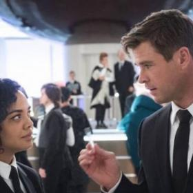 Chris Hemsworth,Tessa Thompson,Hollywood,Men In Black International