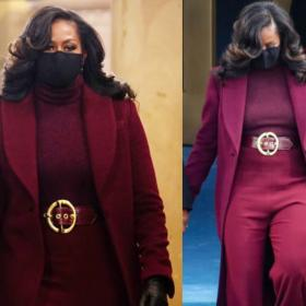 Celebrity Style,michelle obama,inaugration day,flotus