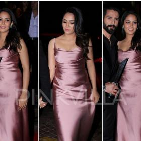 Celebrity Style,monisha jaising,anisha jain,Mira Rajput,Hello! Hall of Fame Awards 2017