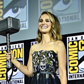 Natalie Portman,serena williams,Hollywood,Thor: Love And Thunder