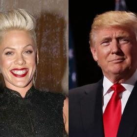 donald trump,PINK,Hollywood,Tulsa Rally
