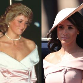 Celebrity Style,fashion,Meghan Markle,Princess Diana