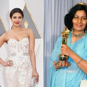 Bhanu Athaiya,Priyanka Chopra Jonas,Hollywood