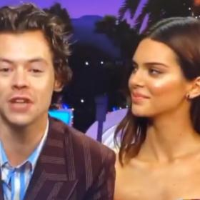 Harry Styles,James Corden,The Late Late Show With James Corden,Kendall Jenner,Hollywood