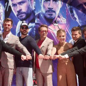 Chris Evans,Robert Downey Jr,Chris Hemsworth,Hollywood
