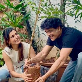 Nagarjuna,Samantha Akkineni,South,Green India challenge