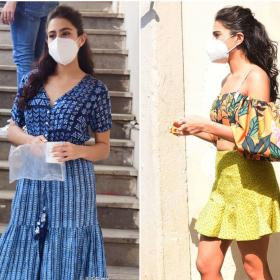 Celebrity Style,Sara Ali Khan,Outfit,coolie no 1