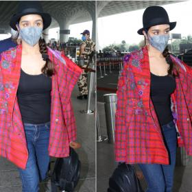 Celebrity Style,fashion,shraddha kapoor,airport look