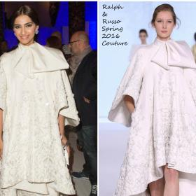 Celebrity Style,sonam kapoor,bollywood,Ralph & Russo,celebrity style