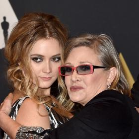 Carrie Fisher,Billie Lourd,Hollywood,Star Wars: The Rise of Skywalker