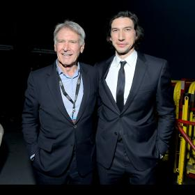 Hollywood,Adam Driver,Star Wars: The Rise of Skywalker,Harrison Ford,Billy Dee Williams,John Williams