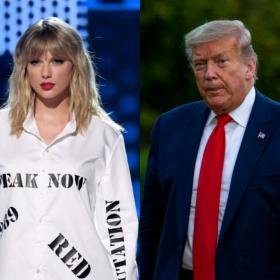 taylor swift,donald trump,Hollywood