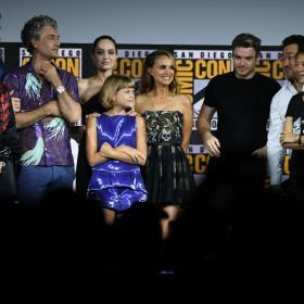 Natalie Portman,angelina jolie,Mahershala Ali,Hollywood,The Eternals,Comic-Con 2019,Thor: Love And Thunder