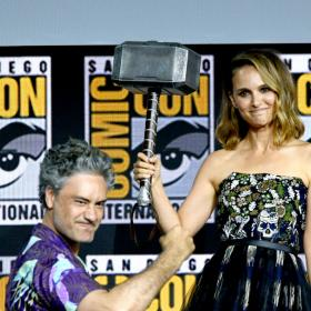 Natalie Portman,Chris Hemsworth,Hollywood,Comic-Con 2019,Thor: Love And Thunder