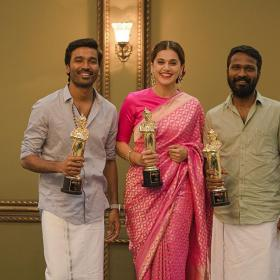 Dhanush,Taapsee Pannu,South,Vetrimaaran,Vikatan Awards 2019